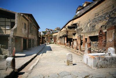 Ercolano scavi Campania Patrimonio Unesco