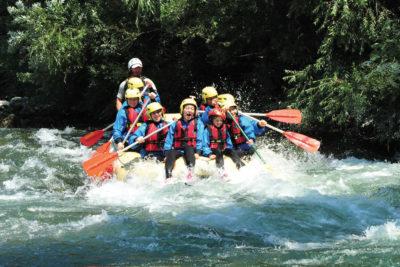 rafting fluviale Cilento
