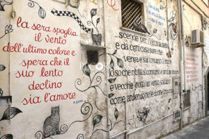 Salerno- muri d'autore